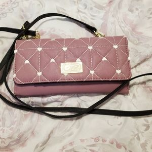 LUV Betsey Purple Purse